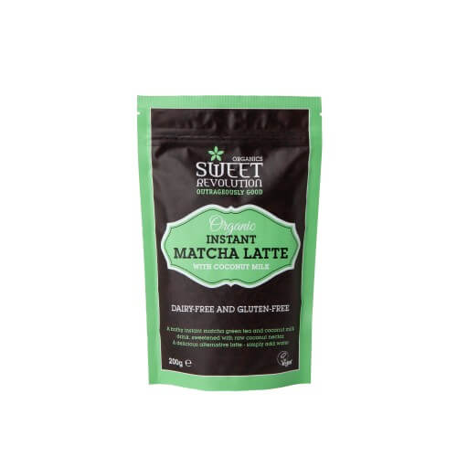 Sweet Revolution Organic Matcha Latte with Vanilla